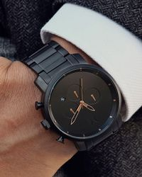 MVMT - Black Chrono Series Watch for Men - Lyst