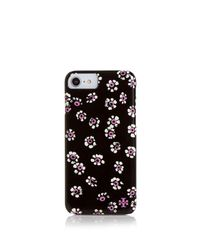 Tory Burch - Black Printed Hard-shell Case Iphone 7 - Lyst