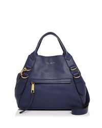 Marc Jacobs | Blue The Anchor Leather Tote | Lyst