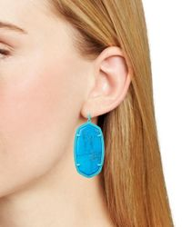 Kendra Scott - Blue Signature Danielle Drop Earrings - Lyst