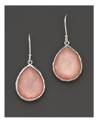 Ippolita - Metallic Sterling Silver Wonderland Teardrop Doublet Earrings In Blush - Lyst