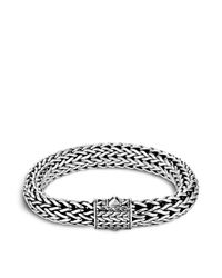 John Hardy | Metallic Men's Sterling Silver Large Chain Bracelet for Men | Lyst