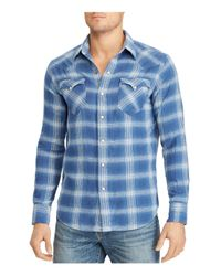 Polo Ralph Lauren - Blue Classic Fit Western Button-down Shirt for Men - Lyst