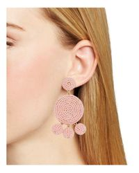 BaubleBar - Pink Maraca Drop Earrings - Lyst