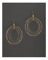 Lana Jewelry - Metallic 14k Yellow Gold Golden Globe Earrings - Lyst