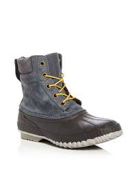Sorel - Gray Cheyanne Waterproof Boots for Men - Lyst
