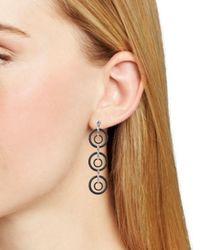 Alor - Gray Noir Cable Drop Earrings - Lyst