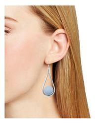 Aqua - Blue Nimi Teardrop Earrings - Lyst