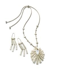 "Kendra Scott - Metallic 34"" - Lyst"