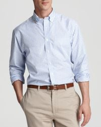Vineyard Vines | Blue Check Murray Classic Fit Button-down Shirt for Men | Lyst