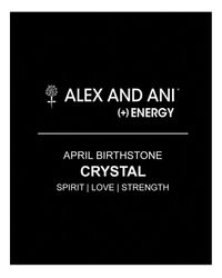 ALEX AND ANI - Yellow April Crystal Birthstone Bangle - Lyst