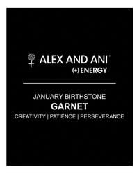 ALEX AND ANI - Black Birthstone Bangle - Lyst