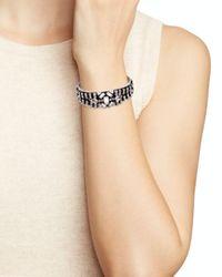 DANNIJO - Metallic Petunia Cuff Bracelet - Lyst