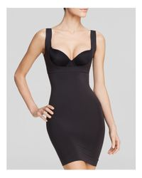 Spanx - Black Shape My Day Open-bust Slip - Lyst