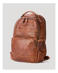 Frye | Brown Logan Leather Backpack for Men | Lyst