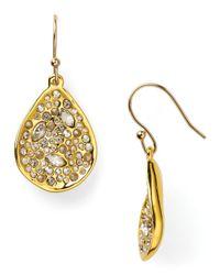 Alexis Bittar - Metallic Miss Havisham Crystal Encrusted Drop Earrings - Lyst