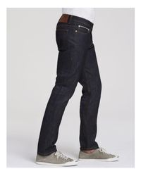 Naked & Famous - Blue Jeans - Weird Guy Left Hand Twill Selvedge New Tapered Fit In Left Hand for Men - Lyst