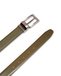 Ted Baker - Green Kong Leather Reversible Belt for Men - Lyst