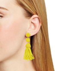 BaubleBar - Yellow Mini Granita Drop Earrings - Lyst