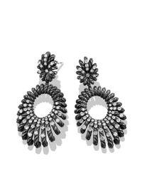 David Yurman - Metallic Tempo Double Drop Earrings With Diamonds - Lyst