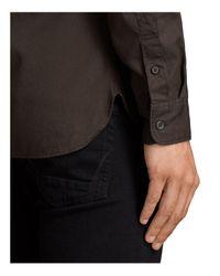 AllSaints - Brown Redondo Shirt for Men - Lyst