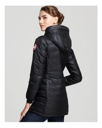 Canada Goose - Black Camp Hoody Coat - Lyst
