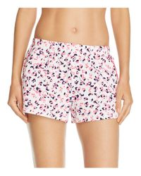 Jane & Bleecker New York - Multicolor Parisian Ditsy Boxer Shorts - Lyst