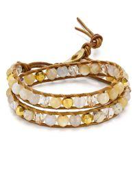 Chan Luu - Multicolor Beaded Cord Bracelet - Lyst