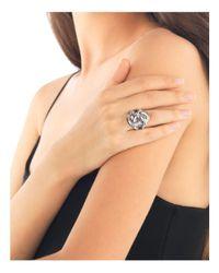 John Hardy - Metallic Women's Sterling Silver Bamboo Knot Ring - Lyst