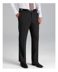 Armani | Black Giorgio Trousers - Classic Fit for Men | Lyst