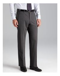 Armani | Gray Giorgio Trousers - Classic Fit for Men | Lyst