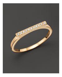 Dana Rebecca | Metallic Diamond Sylvie Rose Ring In 14k Yellow Gold | Lyst