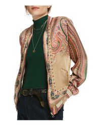 Scotch & Soda - Multicolor Reversible Bomber Jacket - Lyst