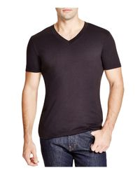 Splendid Mills - Black Splendid Reactive V-neck Tee for Men - Lyst