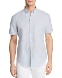 Bloomingdale's - Blue Regular Fit Button-down Shirt for Men - Lyst