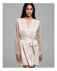 Flora Nikrooz - Metallic Showstopper Cover-up Robe - Lyst