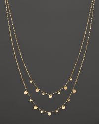 Lana Jewelry | 14k Yellow Gold Boho Gypsy Necklace, 17.5"
