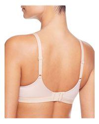 Calvin Klein | White Bare Shape Wireless T-shirt Bra | Lyst