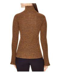 Sandro - Metallic Precilia Ribbed Shimmer Sweater - Lyst