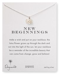 Dogeared | Metallic New Beginnings Pendant Necklace, 18"