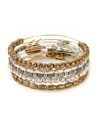 ALEX AND ANI - Metallic Euphrates Bangle - Lyst