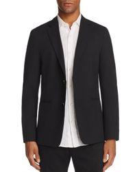 Theory - Black Semi-tech Slim Fit Blazer for Men - Lyst