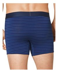 Tommy John - Blue Cool Cotton Mitch Stitch Boxer Brief for Men - Lyst