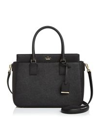 Kate Spade - Black Cameron Street Sally Leather Handbag - Lyst