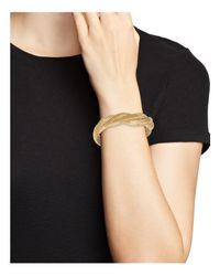 Bloomingdale's - Metallic 14k Yellow Gold Braided Mesh Bracelet - Lyst