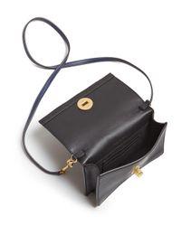 Tory Burch - Blue Georgia Turnlock Mini Bag - Lyst