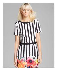 Trina Turk | Multicolor Top - Clio Stripe | Lyst