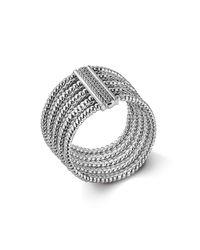 John Hardy - Metallic Bedeg Silver Multi-row Bracelet - Lyst