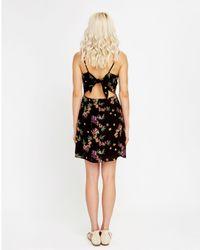 LOST AND WANDER - Black Mambo No. 5 Mini Dress - Lyst