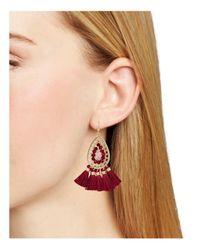 Aqua - Multicolor Drop Earrings - Lyst